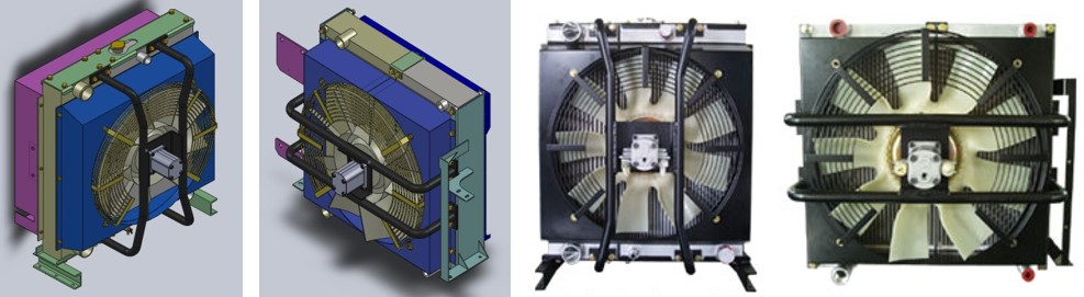 cooling module dual type